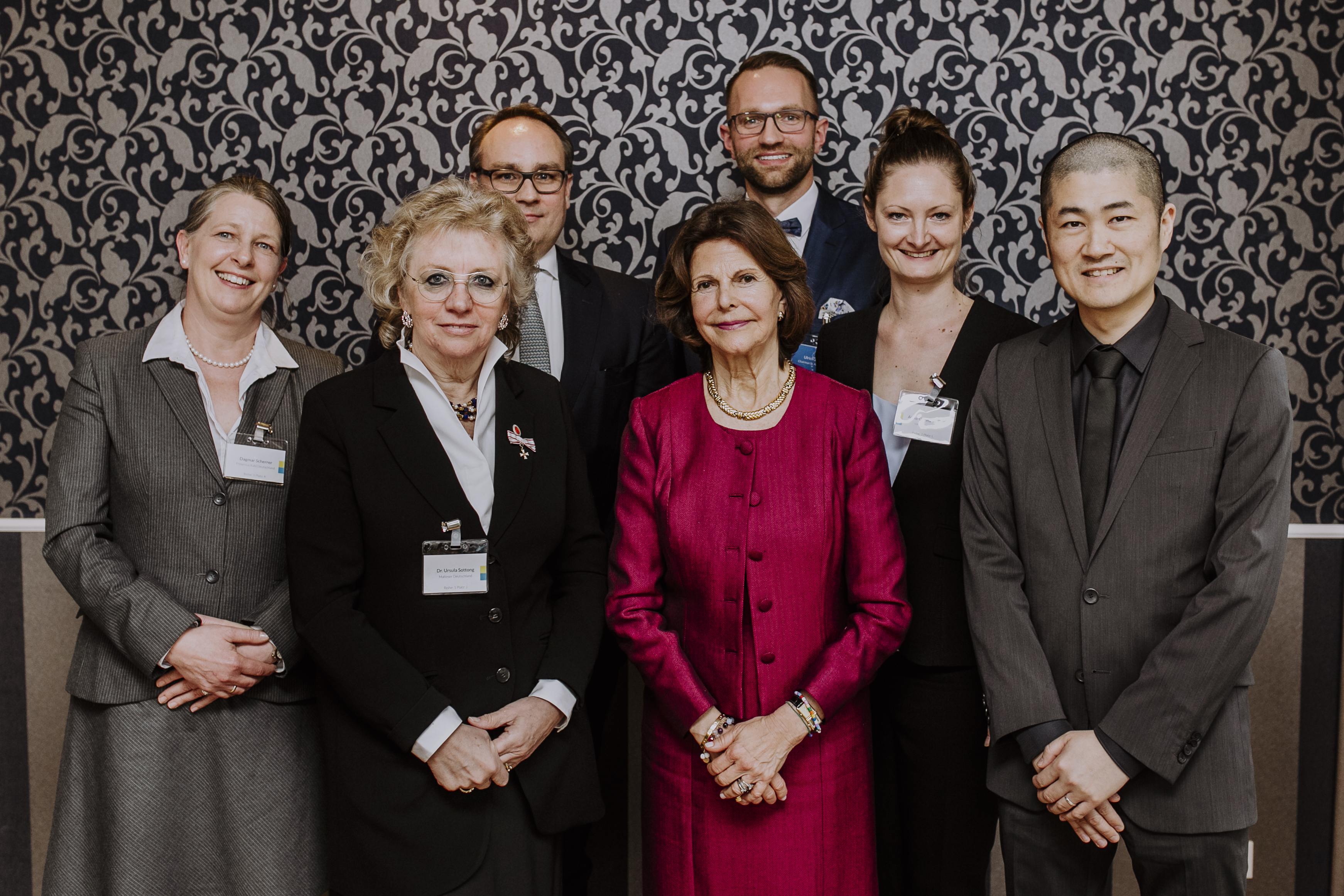 Jury Queen Silvia Nursing Award Deutschland.